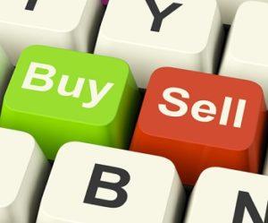 Forex Trading Kauf-und Verkaufs-Schlüssel stellt Geschäfts-Handel oder Aktien online dar