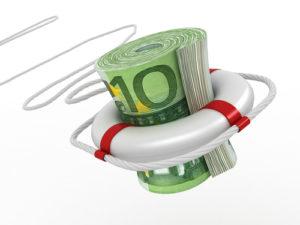 Sicherheit bei LYNX - Rettungsring mit 100 € Scheinen